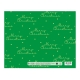 Sterling Christmas Flat Wrappers Green Polka