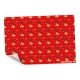 Sterling Christmas Mickey Mouse Flat Wrappers Red Silho