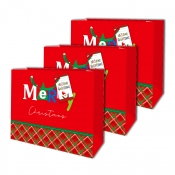 Buy Sterling Christmas Totebag w/ Gift Tag Red Checkered online at Shopcentral Philippines.