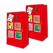Buy Sterling Christmas Totebag w/ Gift Tag Red Square Vertical 2's online at Shopcentral Philippines.