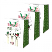 Buy Sterling Christmas Totebag w/ Gift Tag Llama Medium 3's online at Shopcentral Philippines.