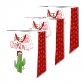 Buy Sterling Christmas Totebag w/ Gift Tag Cactus Tree Medium 3's online at Shopcentral Philippines.