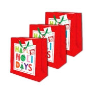 Buy Sterling Christmas Totebag w/ Gift Tag Holiday Box Medium 3's online at Shopcentral Philippines.