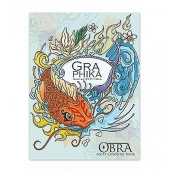 Buy OBRA Adult Coloring Book Graphica online at Shopcentral Philippines.