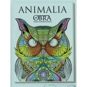 Buy OBRA Adult Coloring Book Animalia online at Shopcentral Philippines.