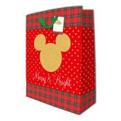 Buy Sterling  Mickey Mouse Merry and Bright Christmas Totebag w/ Gift Tag X.Large online at Shopcentral Philippines.
