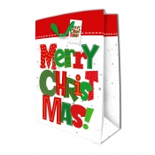 Buy Sterling Christmas Totebag w/ Gift Tag Red White Christmas X Large online at Shopcentral Philippines.