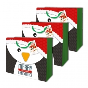Buy Sterling Christmas Totebag w/ Gift Tag Penguin L Horizontal 3's online at Shopcentral Philippines.