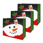 Buy Sterling Christmas Totebag w/ Gift Tag Snowman L Horizontal 3's online at Shopcentral Philippines.