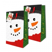 Buy Sterling Christmas Totebag w/ Gift Tag Snowman L Vertical 2's online at Shopcentral Philippines.