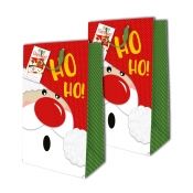 Buy Sterling Christmas Totebag w/ Gift Tag Red Hohoho L Vertical 2's online at Shopcentral Philippines.