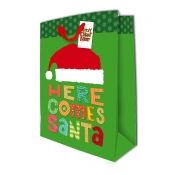 Buy Sterling Christmas Totebag w/ Gift Tag Green Dots X Large online at Shopcentral Philippines.