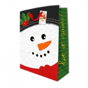 Buy Sterling Christmas Totebag w/ Gift Tag Snowman X Large online at Shopcentral Philippines.