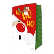 Buy Sterling Christmas Totebag w/ Gift Tag Red Hohoho X Large online at Shopcentral Philippines.