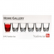 Buy Home Gallery Valencia 8oz 6-PC Tumbler Set  online at Shopcentral Philippines.