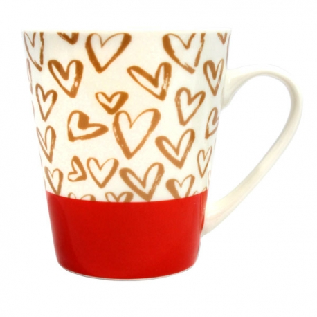 Buy Home Gallery New Bone Mug 12oz Red online at Shopcentral Philippines.
