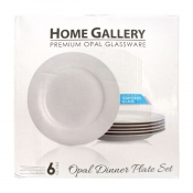 Buy Home Gallery 6Pcs Opal Dinner Plate Set online at Shopcentral Philippines.