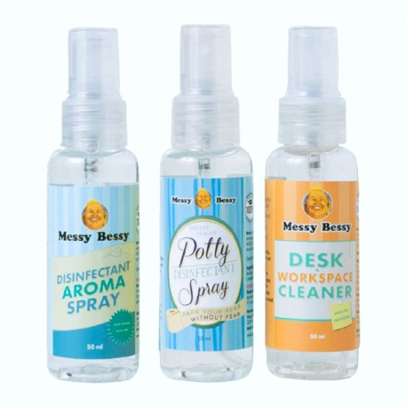 Buy Messy Bessy Sanitizing Trio online at Shopcentral Philippines.