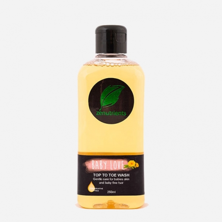 Buy Zenutrients Baby Love Top to Toe Wash 250ml online at Shopcentral Philippines.