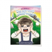 Buy Sterling Classic Tales Story & Coloring Book- The Boy Who Cried Wolf online at Shopcentral Philippines.