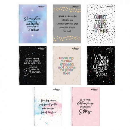Buy Avanti All About Stars Premium Spiral Notebook Set of 8 online at Shopcentral Philippines.