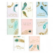 Buy Sterling Peacock Notes Spiral Notebook 685 Set of 8 online at Shopcentral Philippines.