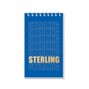 Buy Sterling Memo Notebook Sterling Fonts 3'' x 5'' Set of 5 online at Shopcentral Philippines.
