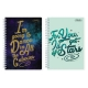 Sterling Across the Universe Double Cover Wire-O Notebook Design 5