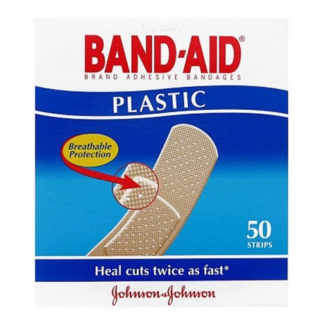 Buy  Band Aid Plastic  Strip 50's online at Shopcentral Philippines.