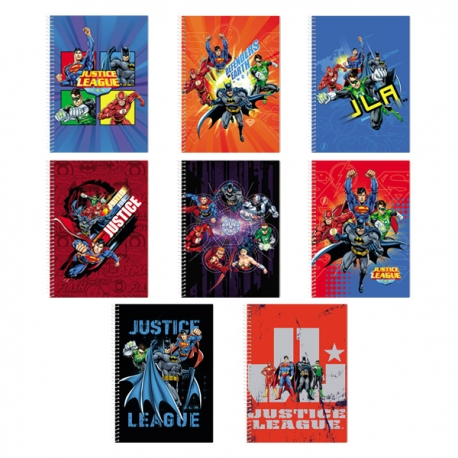 Buy Avanti Justice League Premium Spiral Notebook Set of 8 online at Shopcentral Philippines.