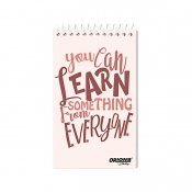 Buy Orions Memo Notebook Typography 3'' x 5'' Set of 5 online at Shopcentral Philippines.