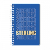 Buy Sterling Memo Notebook Sterling Fonts 4'' x 6'' Set of 5 online at Shopcentral Philippines.