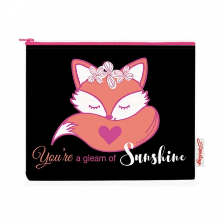 Buy Sterling You're a gleam of Sunshine Big Fabric Pouches online at Shopcentral Philippines.