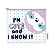 Buy Sterling I'm Cute and I Know It Big Fabric Pouches online at Shopcentral Philippines.