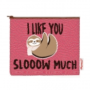 Buy Sterling I Like You Slooow Much Big Fabric Pouches online at Shopcentral Philippines.
