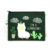 Buy Sterling I'm a Llamacorn Big Fabric Pouches online at Shopcentral Philippines.