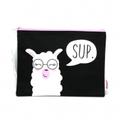 Buy Sterling Llama Sup Big Fabric Pouches online at Shopcentral Philippines.