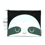 Buy Sterling Bluish Sloth Big Fabric Pouches online at Shopcentral Philippines.