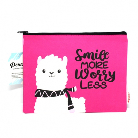 Buy Sterling Smile Worry Less Big Fabric Pouches online at Shopcentral Philippines.