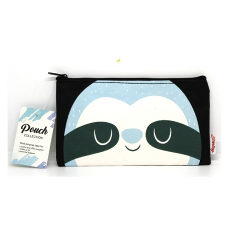 Buy Sterling Bluish Sloth Small Fabric Pouches online at Shopcentral Philippines.