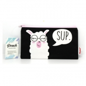 Buy Sterling Llama Sup Small Fabric Pouches online at Shopcentral Philippines.