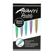Buy Avanti Pastels Assorted Ballpoint Pen 50 pcs online at Shopcentral Philippines.