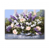 "Buy Paint by Number Kit 16""x 20"" Lavender Flowers online at Shopcentral Philippines."