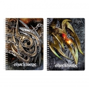 Buy Sterling Shockwave Double Cover Wire-O Notebook Design 3 online at Shopcentral Philippines.