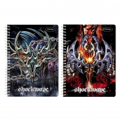 Buy Sterling Shockwave Double Cover Wire-O Notebook Design 4 online at Shopcentral Philippines.