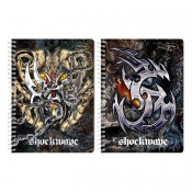 Buy Sterling Shockwave Double Cover Wire-O Notebook Design 5 online at Shopcentral Philippines.