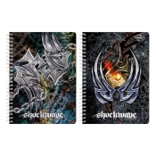 Buy Sterling Shockwave Double Cover Wire-O Notebook Design 6 online at Shopcentral Philippines.