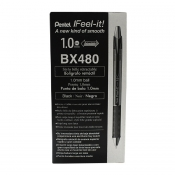 Buy 12 Pcs Pentel I Feel-It! BX480 Ballpoint Pens 1.0mm online at Shopcentral Philippines.