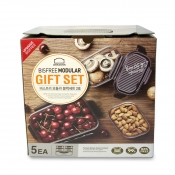 Buy Lock & Lock Bisfree Modular 5Pcs Gift Set Food Container online at Shopcentral Philippines.