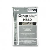 Buy Pentel N860 Permanent Marker 12's online at Shopcentral Philippines.